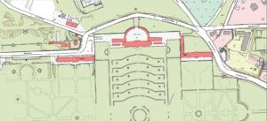 Flurkarte Schloss Sanssouci